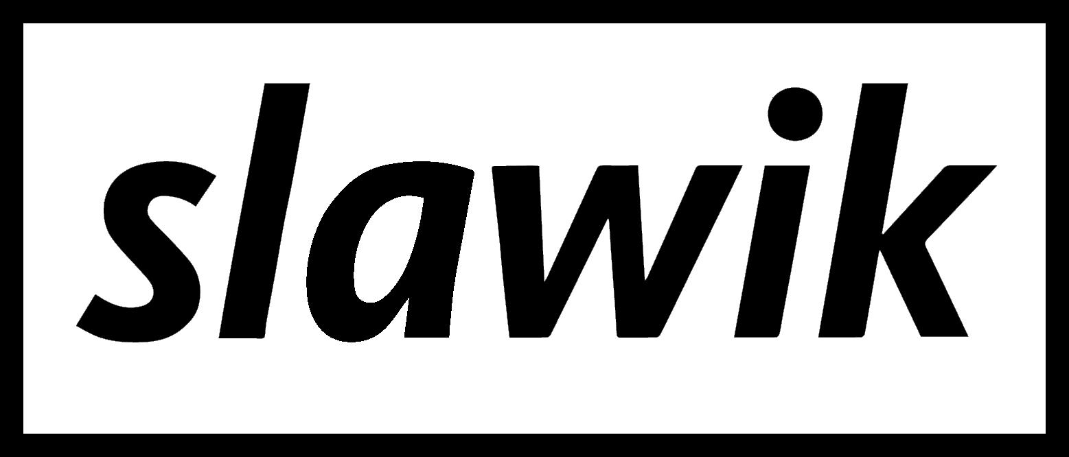 Raumausstatter logo  slawik | Der Raumausstatter